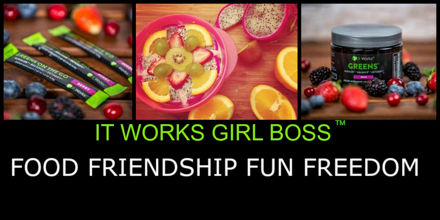 IT WORKS! GIRL BOSS