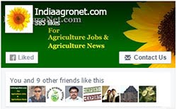 Like our facebook page for daily updates on agriculture Jobs