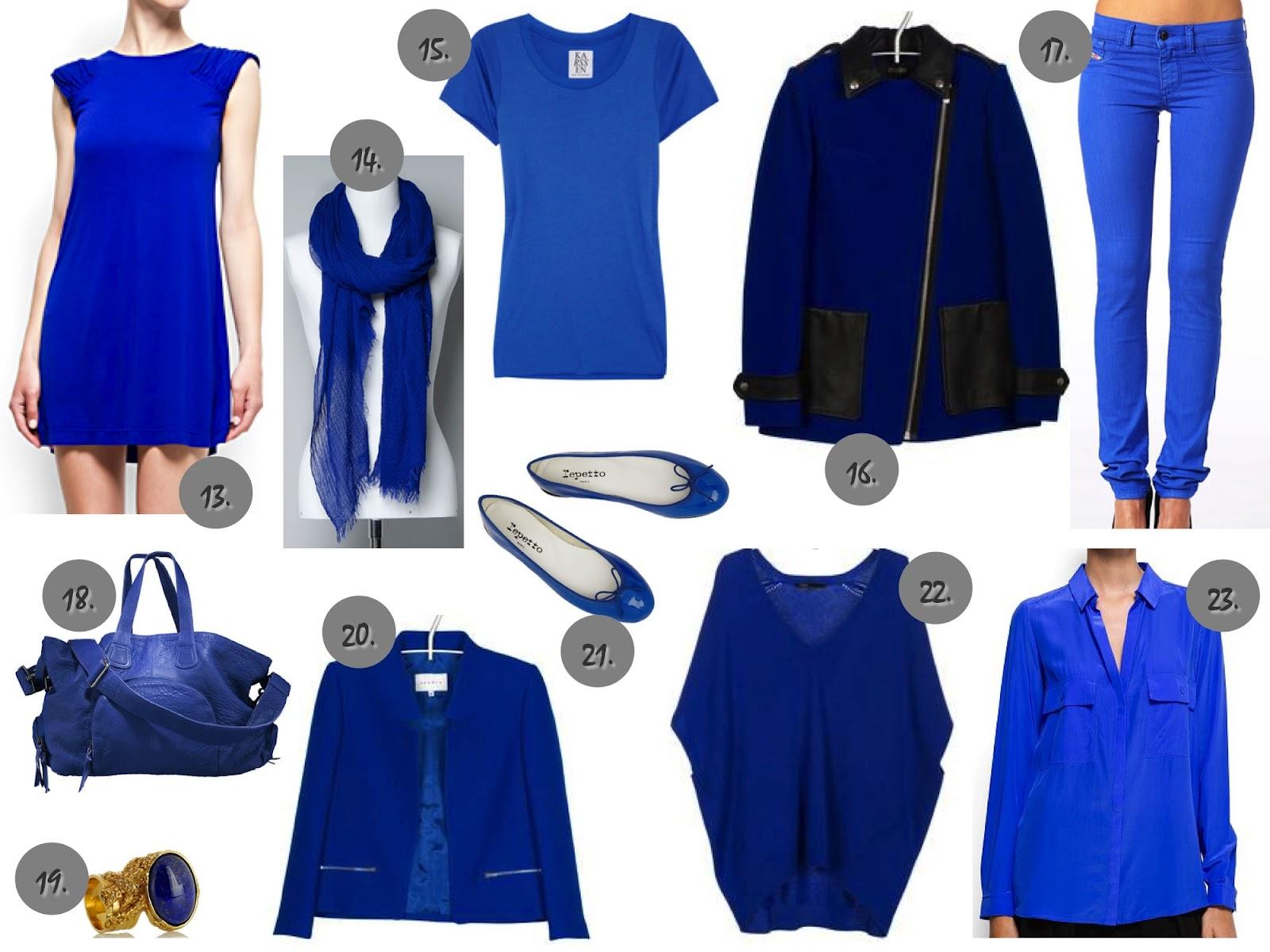 Le bleu klein | Tendance et Haute Couture