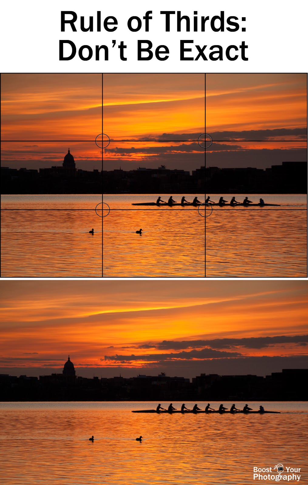 The Rule of Thirds - don't be exact | Boost Your Photography