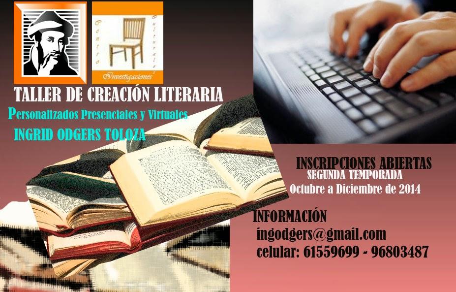 Talleres de Creación literaria