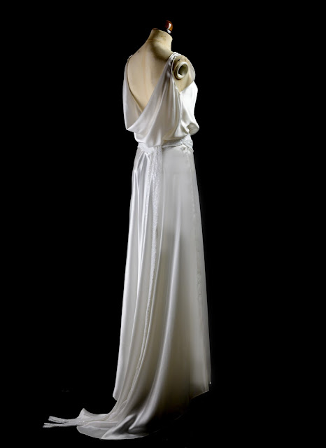 Old Hollywood Jean Harlow Dress by Alexandra King