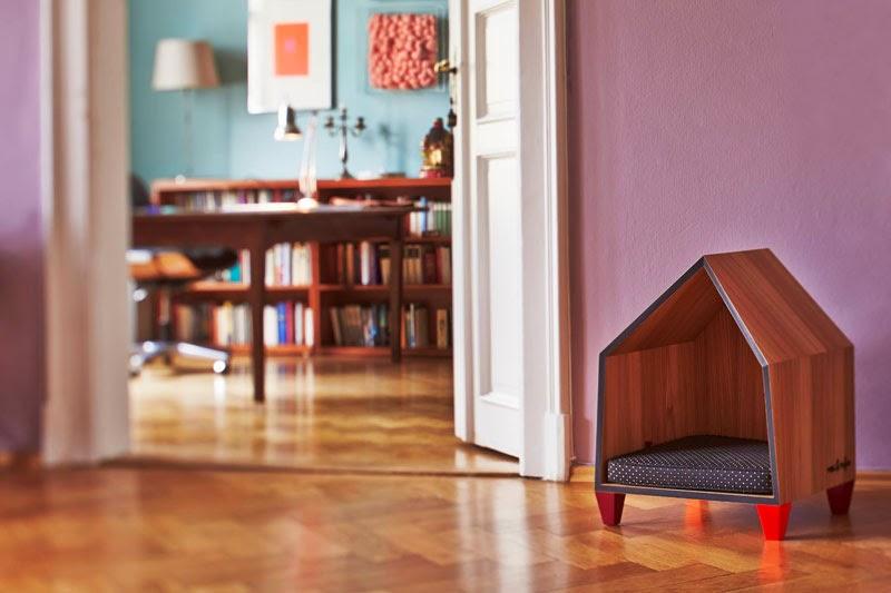 objetos de diseño para mascotas Pet Furniture de Rosi & Rufus
