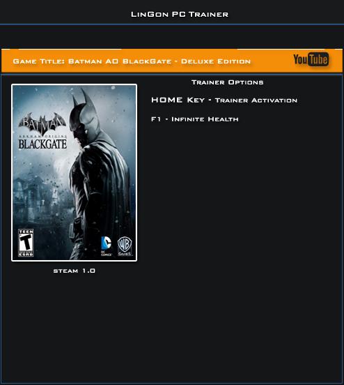 Скачать бэтмен игра