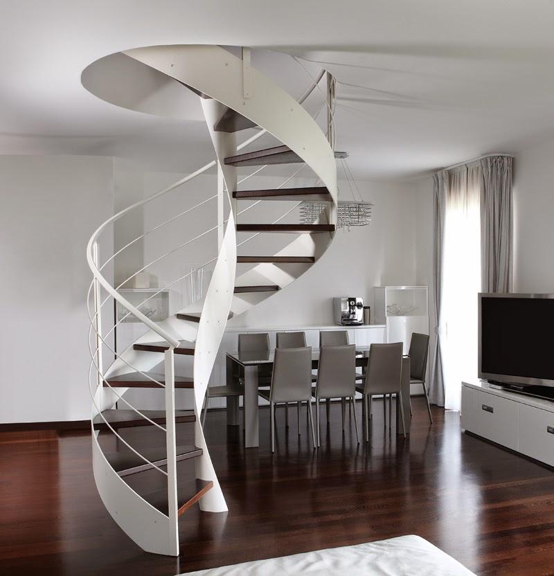 Rizzi scale elicoidali a vocazione architettonica