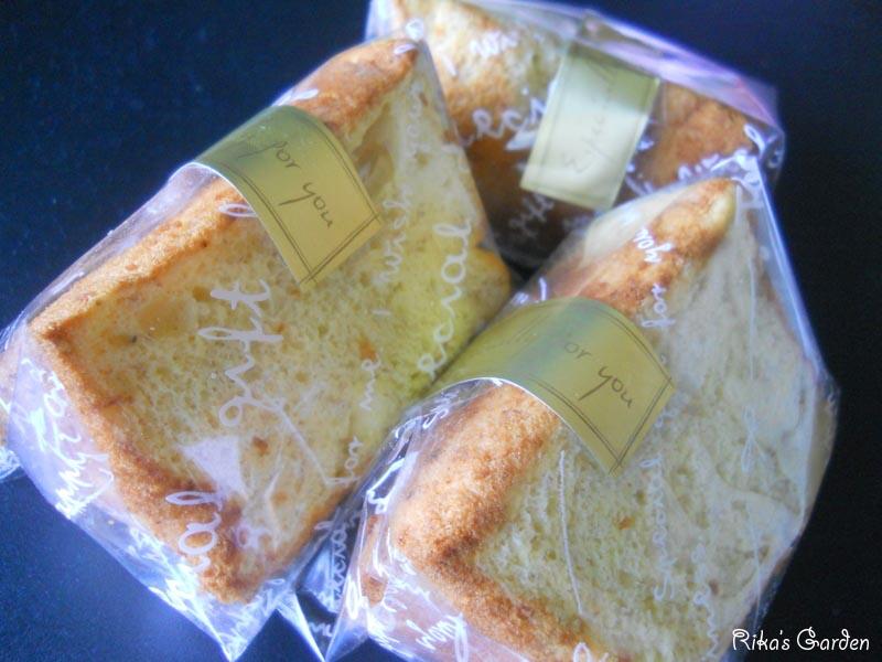 banana chiffon cake♪