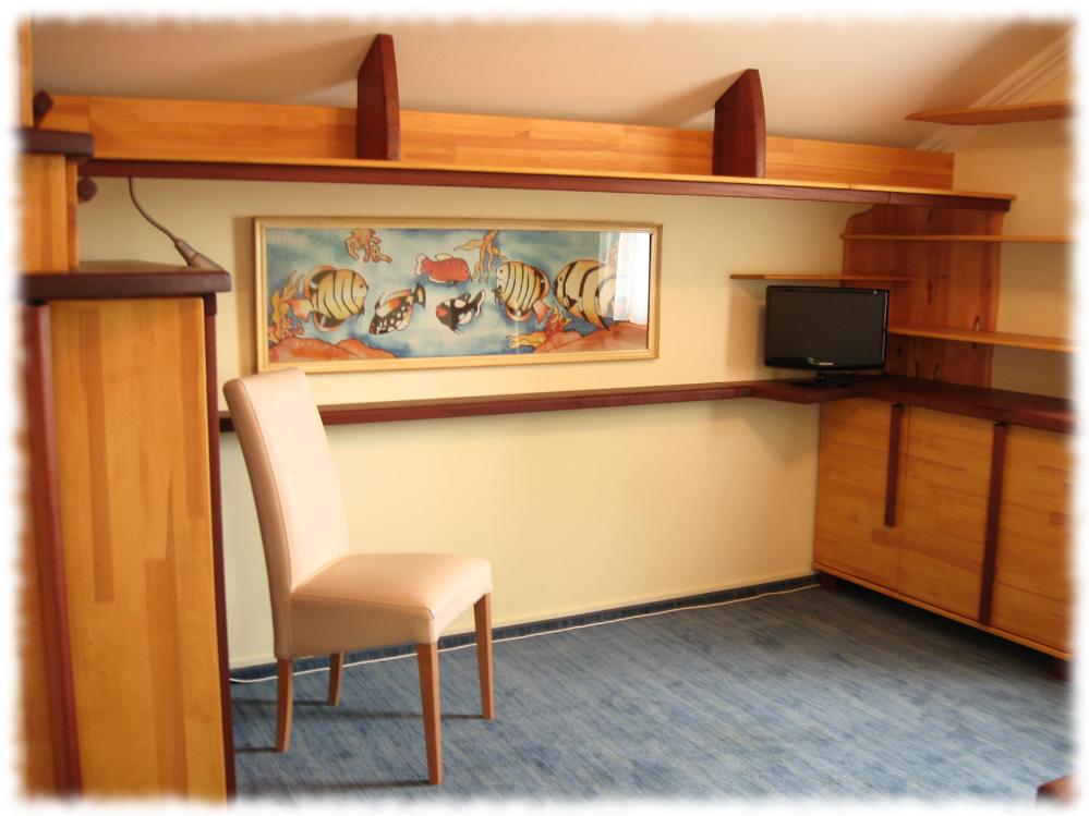 Balatoni dolgozószoba - kanapé helye