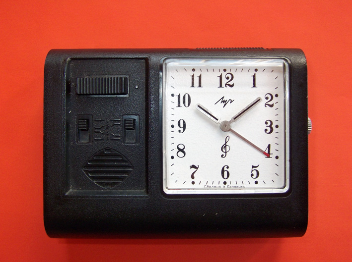 An 1992 1993 Clock It Is A Travel Alarm