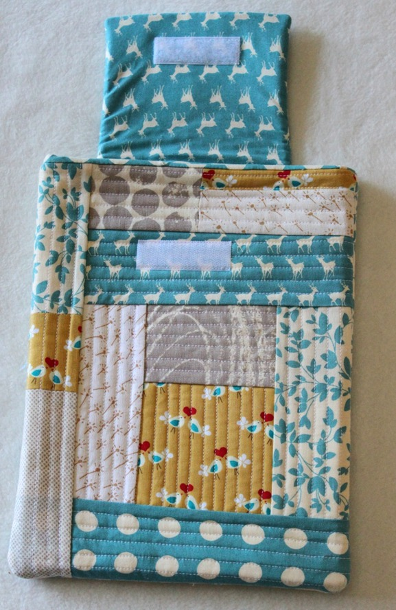 Quilt As You Go iPad Case - Sew Delicious : quilt as you sew - Adamdwight.com