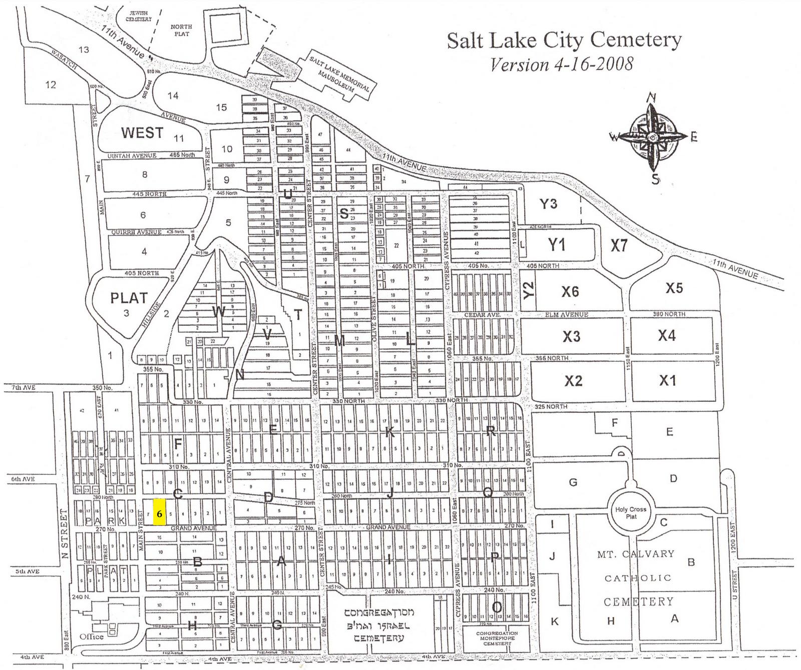 Salt lake city historic district map enjoy utah publicscrutiny Choice Image