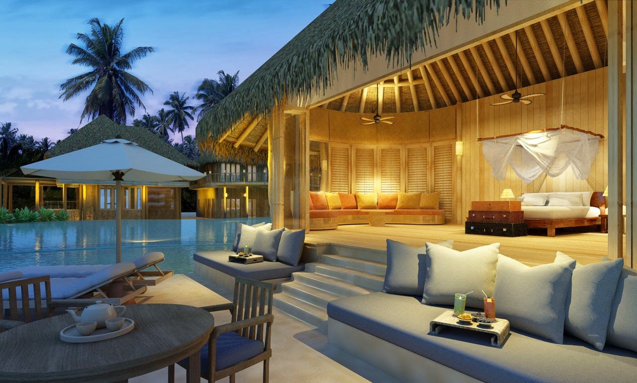 Tropical dreams tropical dreams most beautiful resorts for Hotel luxury world