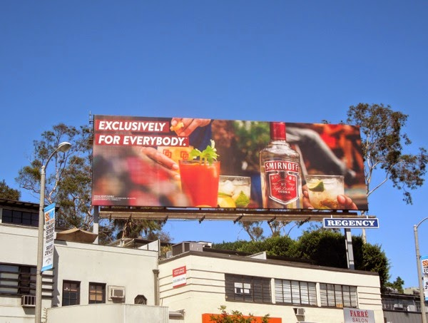 Exclusively for everybody Smirnoff Bloody Mary billboard
