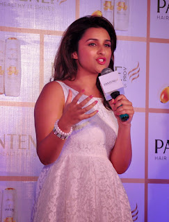 Parineeti Chopra Pictures in White Short Dress at Pantene Proof Over Promises Campaign Launch  18.JPG
