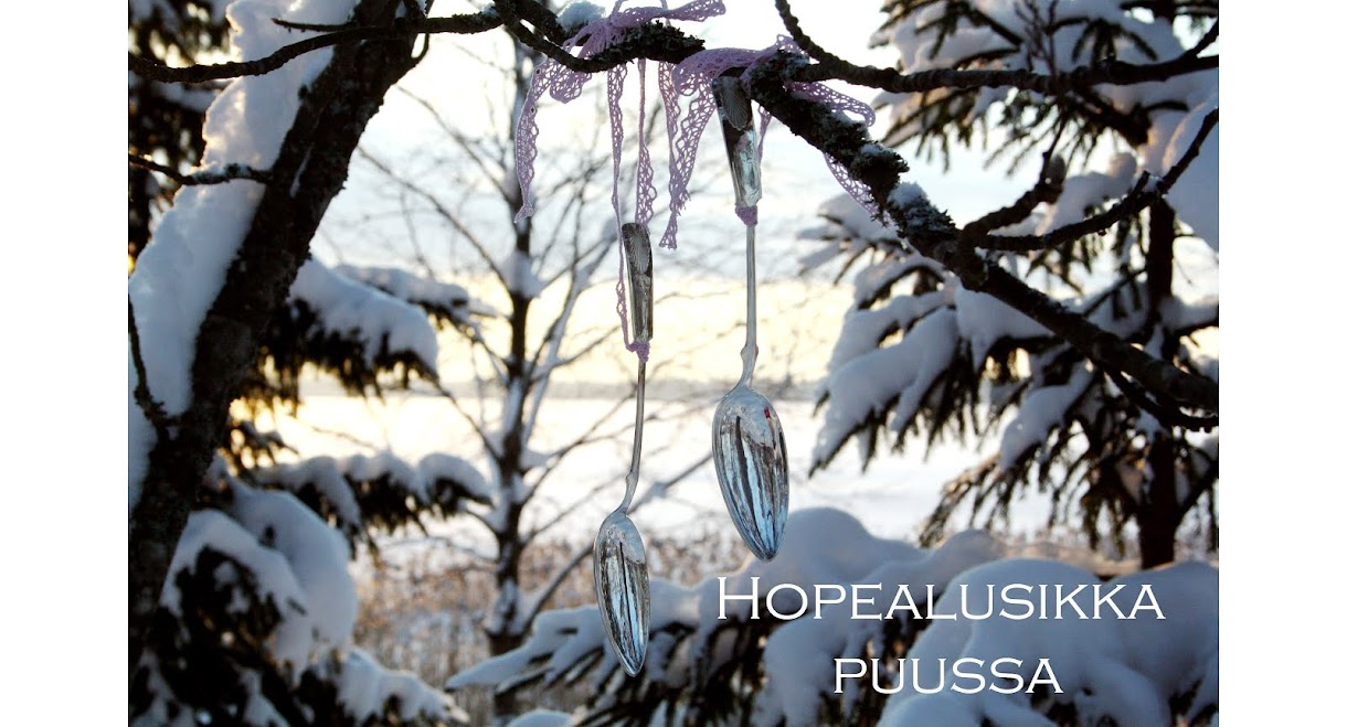 Hopealusikka puussa