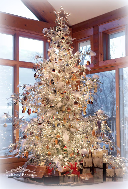 How to Flock a Tree with Pro Flocking, Bliss-Ranch.com