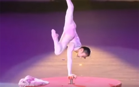 Chinese Circus Amazing Contortionist Performance ayman sat