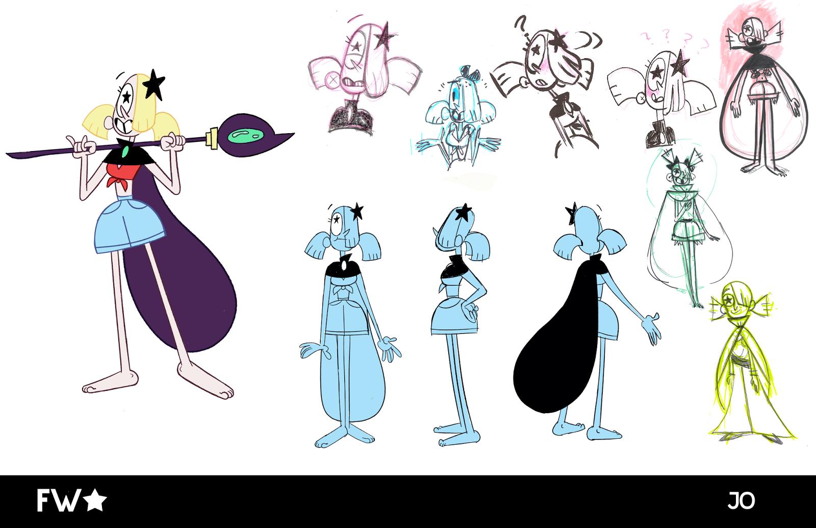 Calarts Character Design Portfolio : Samantha king character design