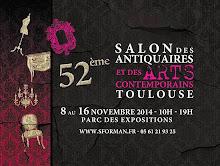 TOULOUSE : CAPTON AU 52ÈME SALON DES ANTIQUAIRES ET DES ARTS CONTEMPORAINS