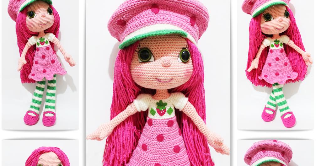 Niloya Amigurumi Free Pattern Doll Oyuncak Bebek : Amigurumi cilek K?z- Strawberry Girl Tiny Mini Design