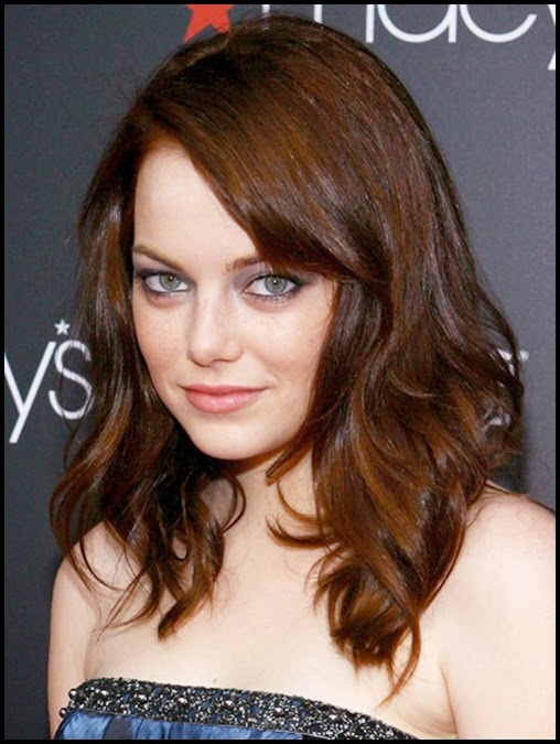 Dark Auburn brown hair Color