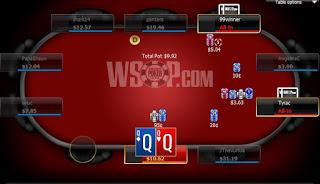 Poker qq vs ak
