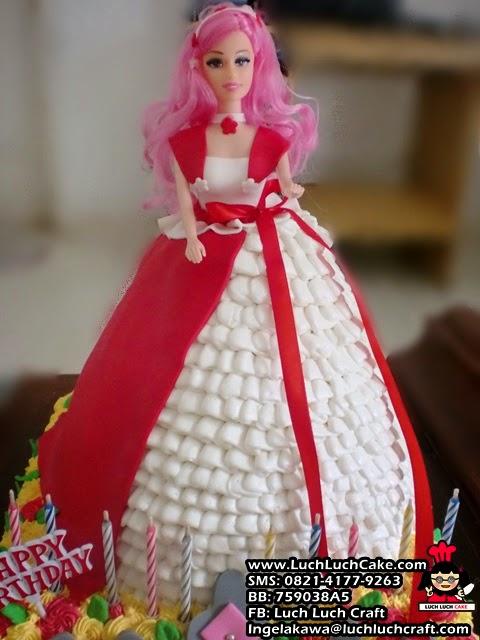 jual kue tart barbie daerah surabaya - sidoarjo