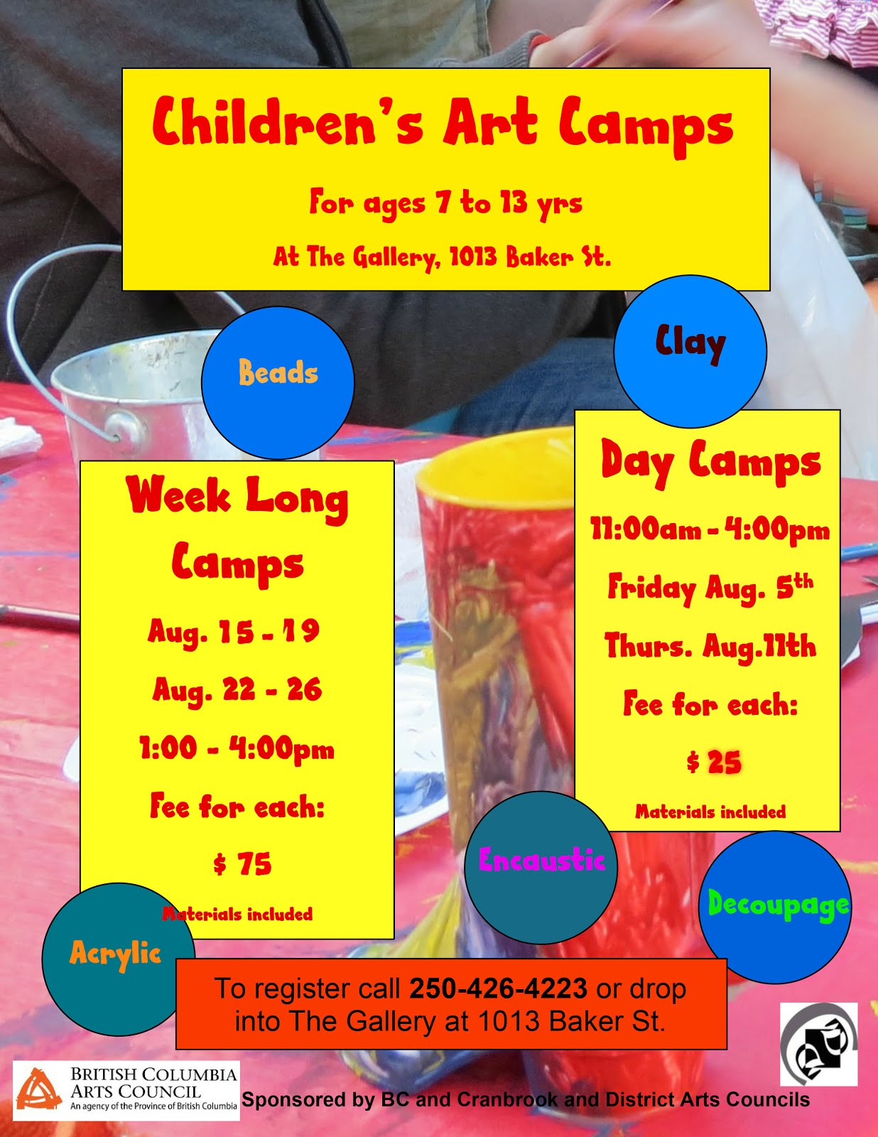 Children's Art Camps