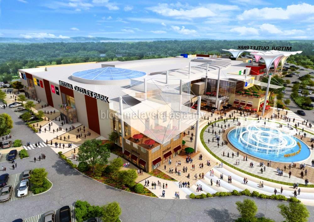 Mitsui Outlet Park Klia Opening Malaysia Asia