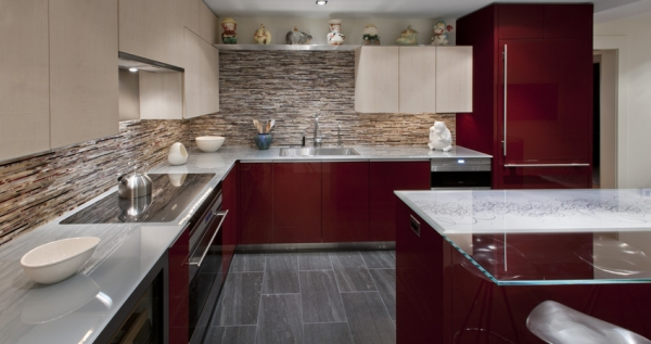 kasih atas kunjungan anda pada artikel Dapur modern dan ruang keluarga ...