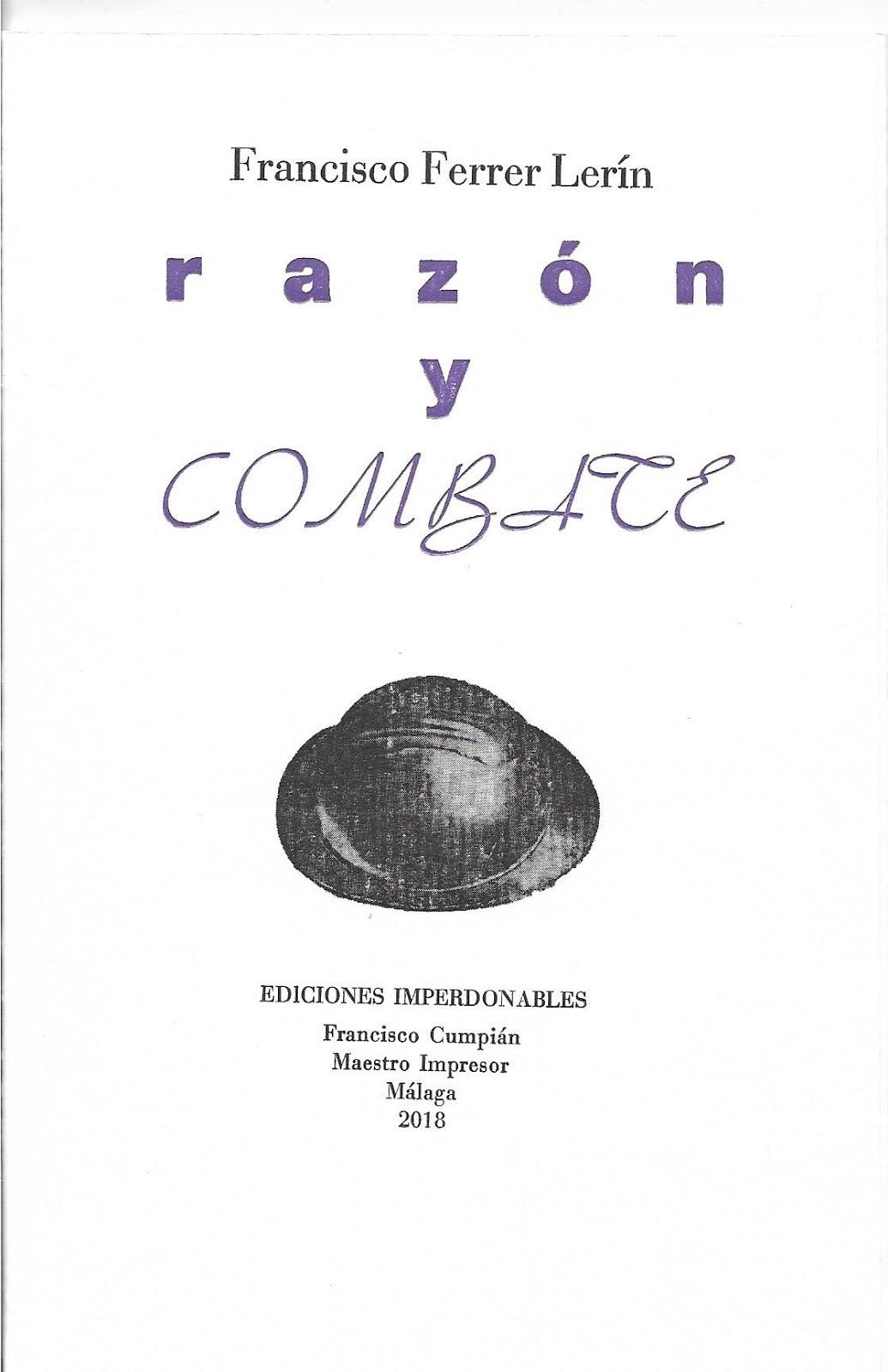 Razón y combate