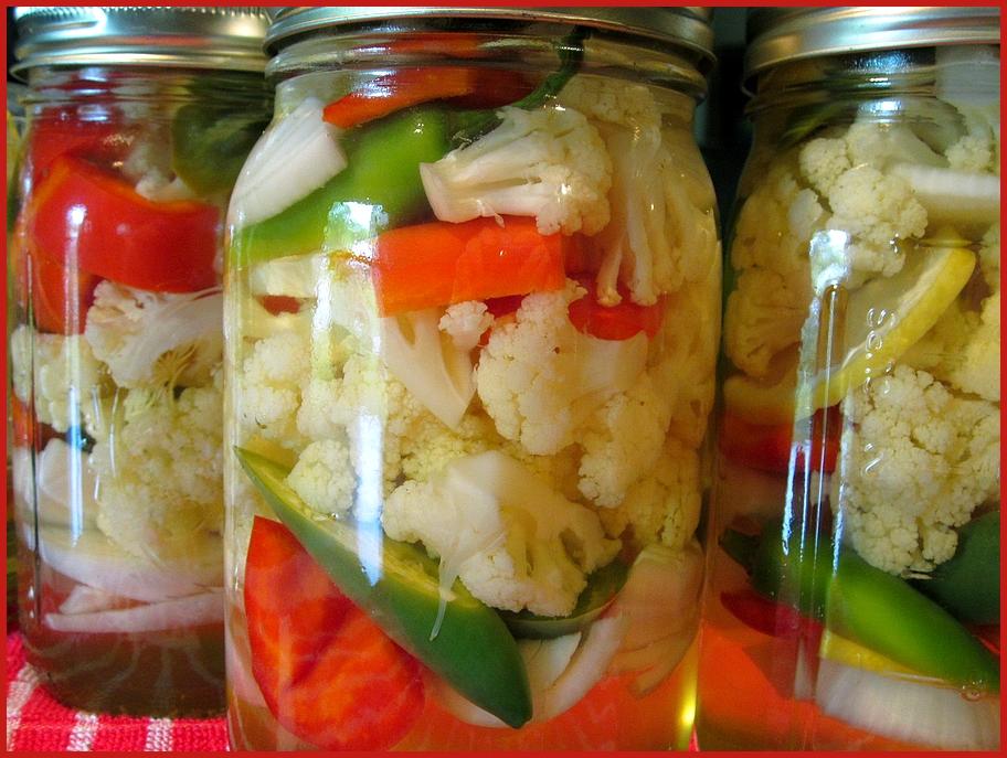 консервирование цветной капусты с морковью