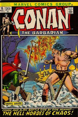 Conan the Barbarian #15, Elric