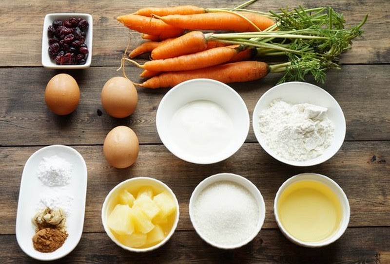Recipe of carrot Cupcakes