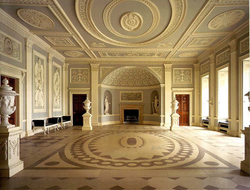 This england spirit of england the arts architecture for Entrance hall design