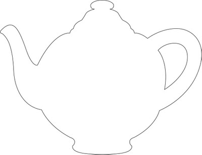 Critical image throughout teapot printable