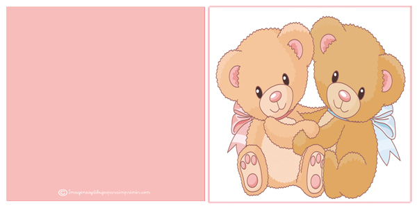 gifts birthday cards to print with bears