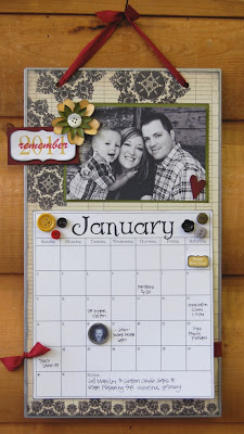 2012 CALENDAR PAGES
