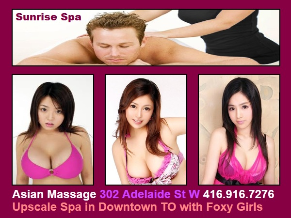 Asian massage toronto downtown