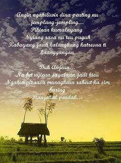 Puisi Bahasa Sunda Terbaru