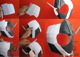 Tokusatsu Tôls File Papercraft... M8
