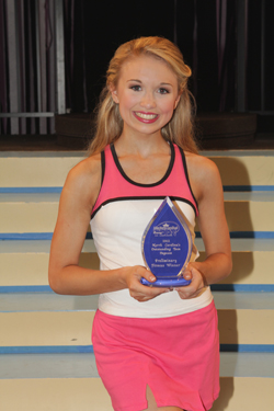 Hannah Welborn-Lewis, Race City's Outstanding Teen, was the winner in ...