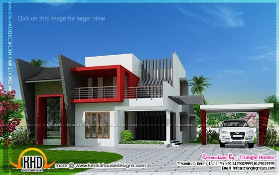 After renovation house plan, Kerala