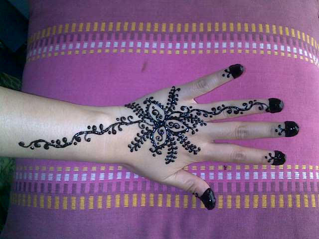 Henna Party Mehndi Kerucut Merah : Ct designs inai tangan