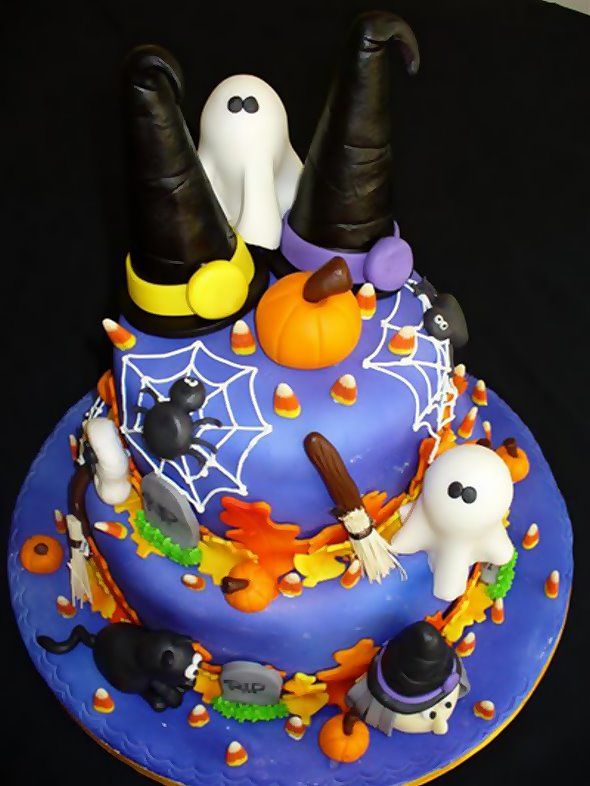Birthday Cakes Halloween Birthday Cakes