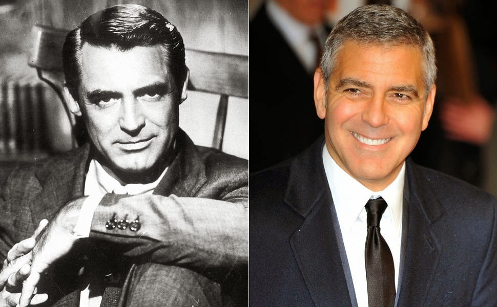 Cary Grant e George Clooney
