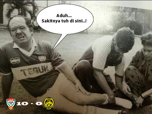 Apabila Harimau Malaya kena 10-0...