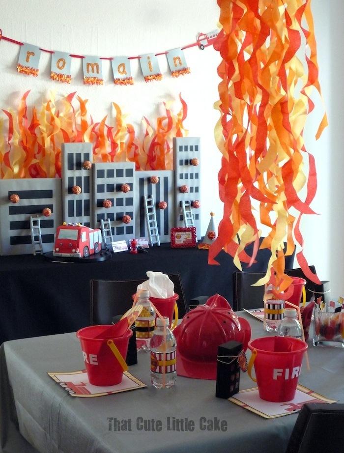Fireman Sam Birthday Decorations