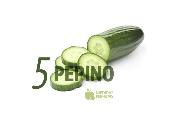 Pepino - Legumes que Emagrecem