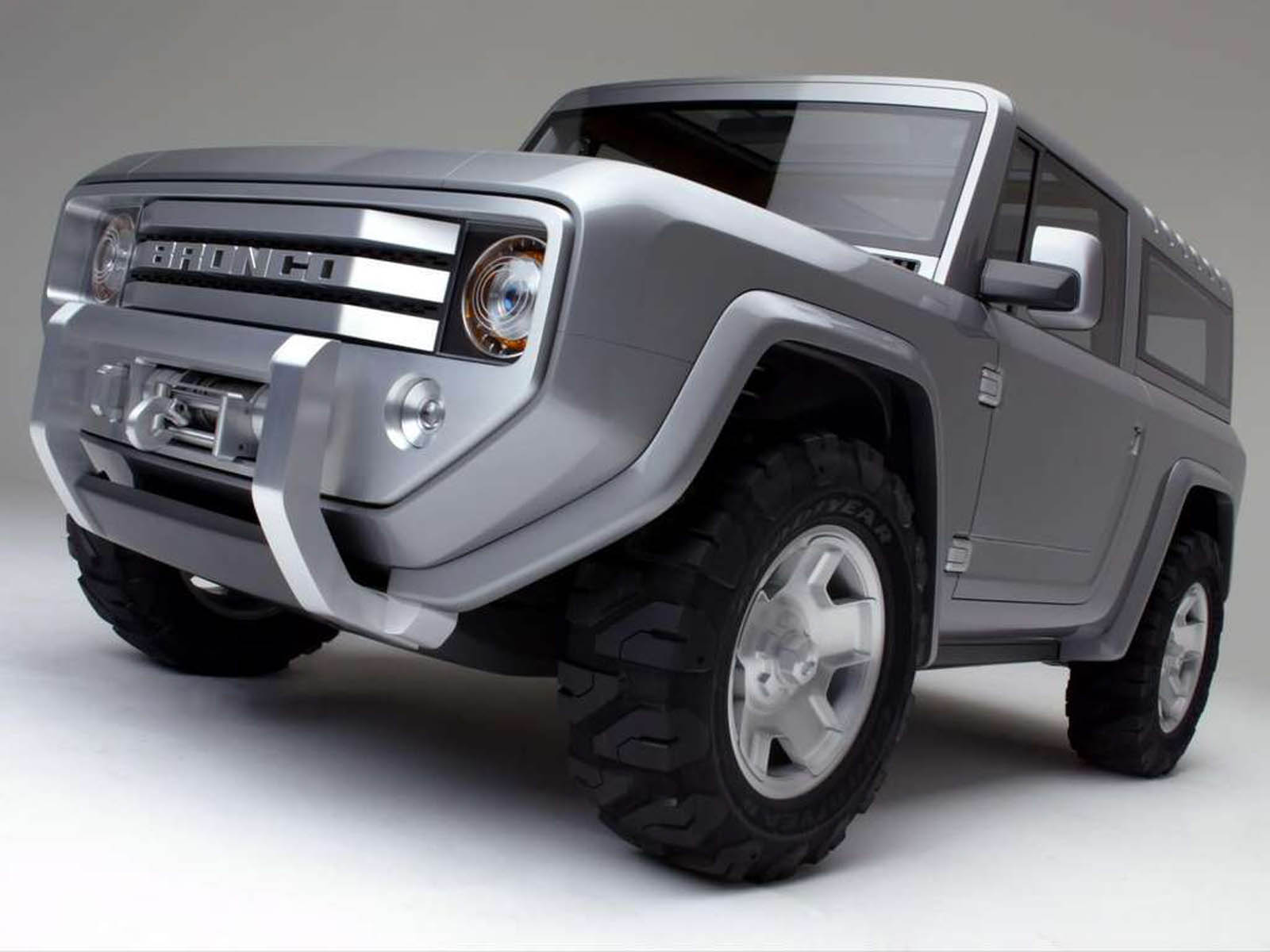 wallpapers: Ford Bronco Concept Car Wallpapers