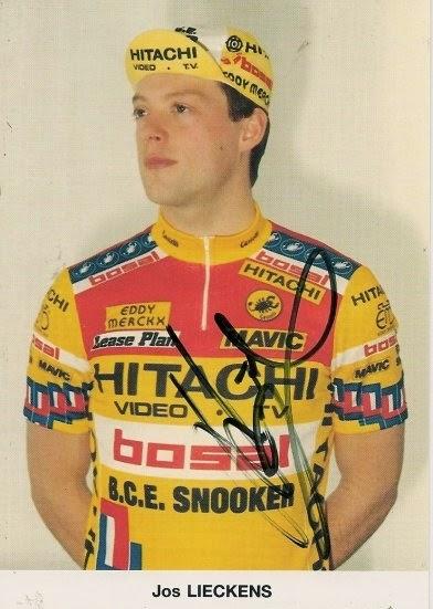 Le cyclisme belge LIECKENS Jozef  Jos